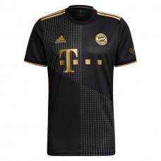 Bayern Münih 21/22 Altın-Siyah Deplasman Forması