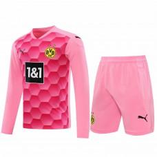 Borussia Dortmund 2020-21 Pembe KALECİ FORMASI SET